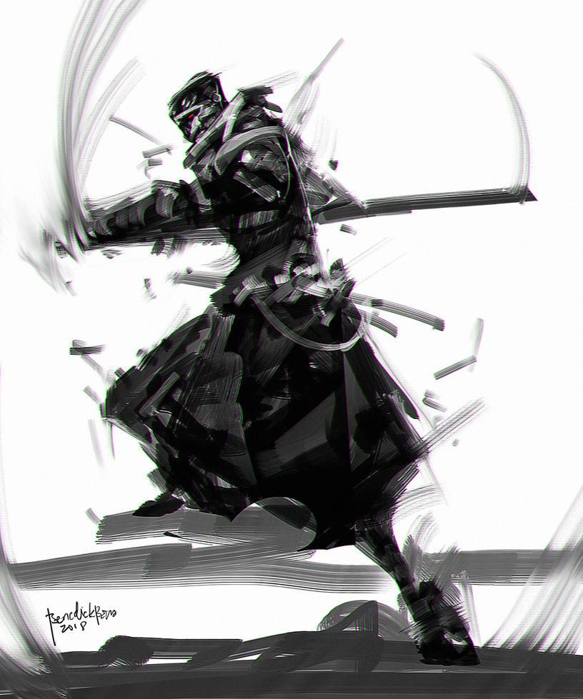 Shinobi Zero Raijin by benedickbana