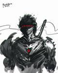 Speedpaint Cyborg Ninja