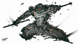 Speedpaint Ninja Assassin by benedickbana