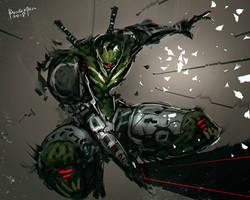 Xblade Punk by benedickbana