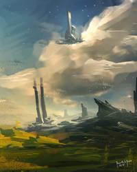Valley of the Gods by benedickbana