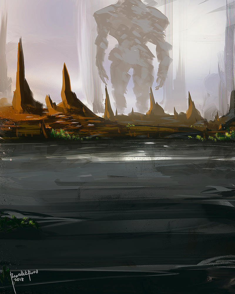 Land of the Titans by benedickbana