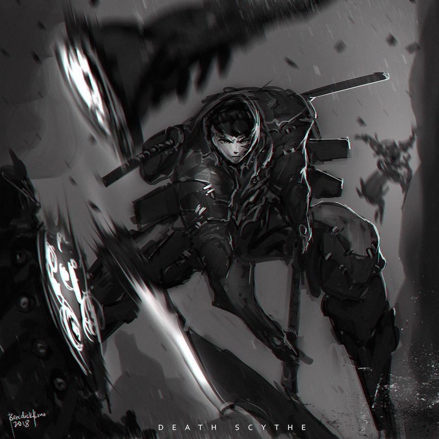 Death Scythe by benedickbana