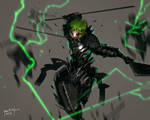 FanArt Zoro Cyber Evolution