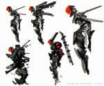 Ryujin  Cyborg Concept Art