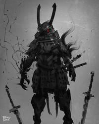 Cursed Samurai by benedickbana
