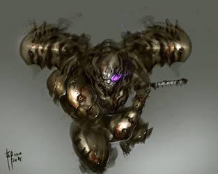 Samurai Demon Baal by benedickbana