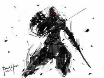 Speedpaint Ninja 01 by benedickbana