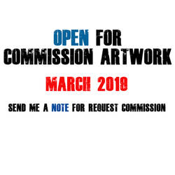 Open Commission for March 2019 by benedickbana
