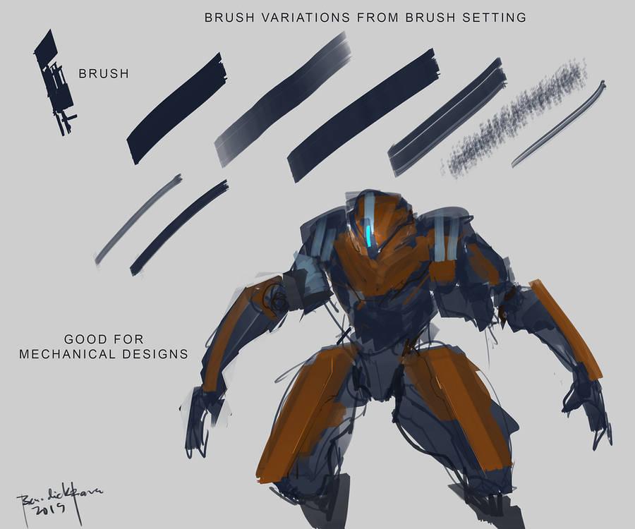 Brush Design by benedickbana