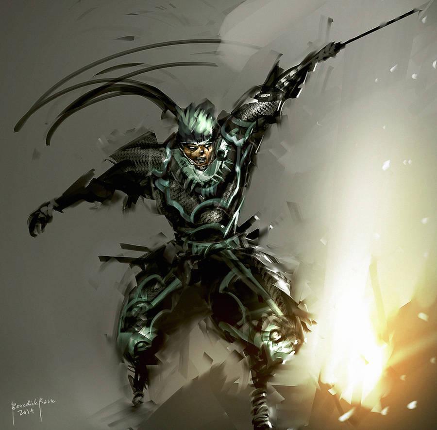 Swordsman by benedickbana