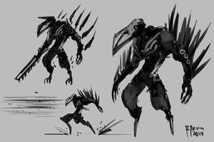 Crow of Pain by benedickbana