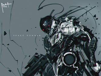 Space Gunner by benedickbana