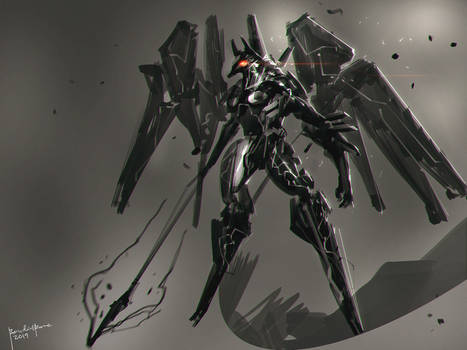 Zone of the Enders ANUBIS FanArt