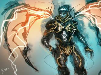 Lightning Wing by benedickbana