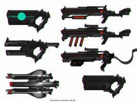 Speedpaint Gun Design SetA
