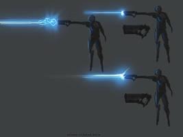 Speedpaint Gun Design SetA FX Blast