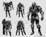 Havok Character Design with Weapons