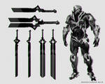 Havok Character Design with Blade Weapon