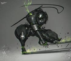 Cyborg Shinobi Demon Slayer