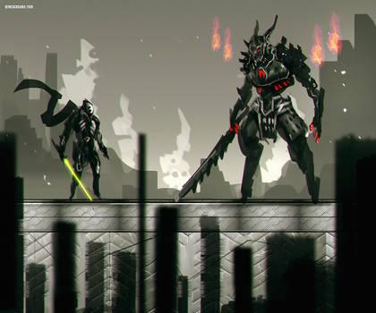 DarkFall fight game concept
