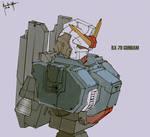 RX-79 Gundam Fanart