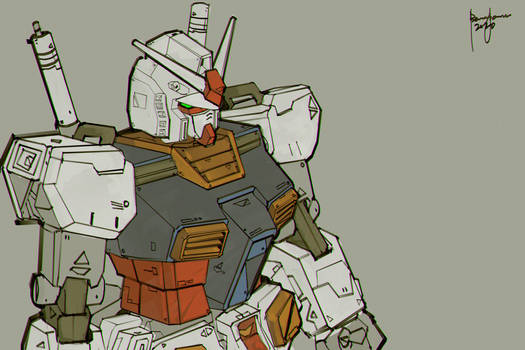 RX78 Gundam Fanart