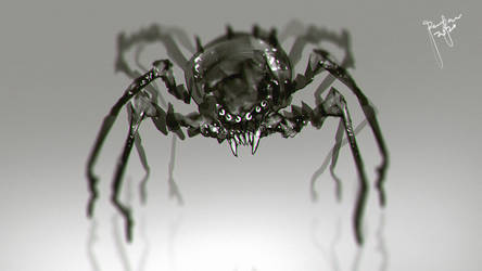 Spider Creature Design