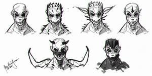 Quick sketch Demon Concept