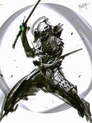 Speedpaint Oni Ninja