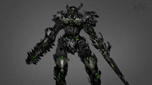 Cyber Samurai Boss