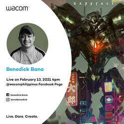 Wacom Live February 13, 4pm (Philippine time)