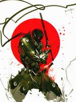 Darkfall Cyborg Ninja