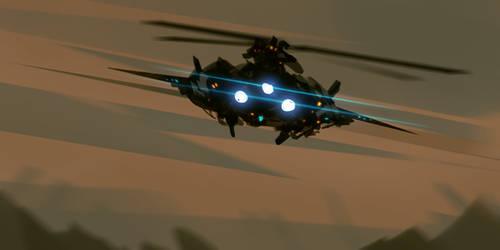 Speedpainting Flight
