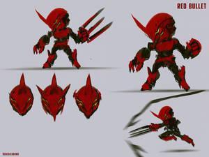 Speedpainting Red Bullet