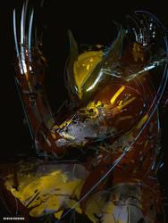 Classic Wolverine Cyber Evolution Fanart