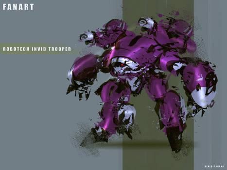 Robotech Fanart  Invid Trooper