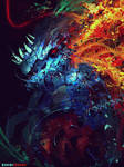 Fire and Ice Dragonoid
