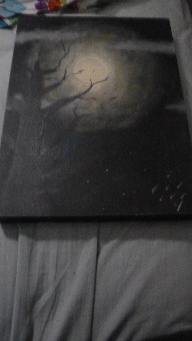 Spooky Moon by DarkDragone55