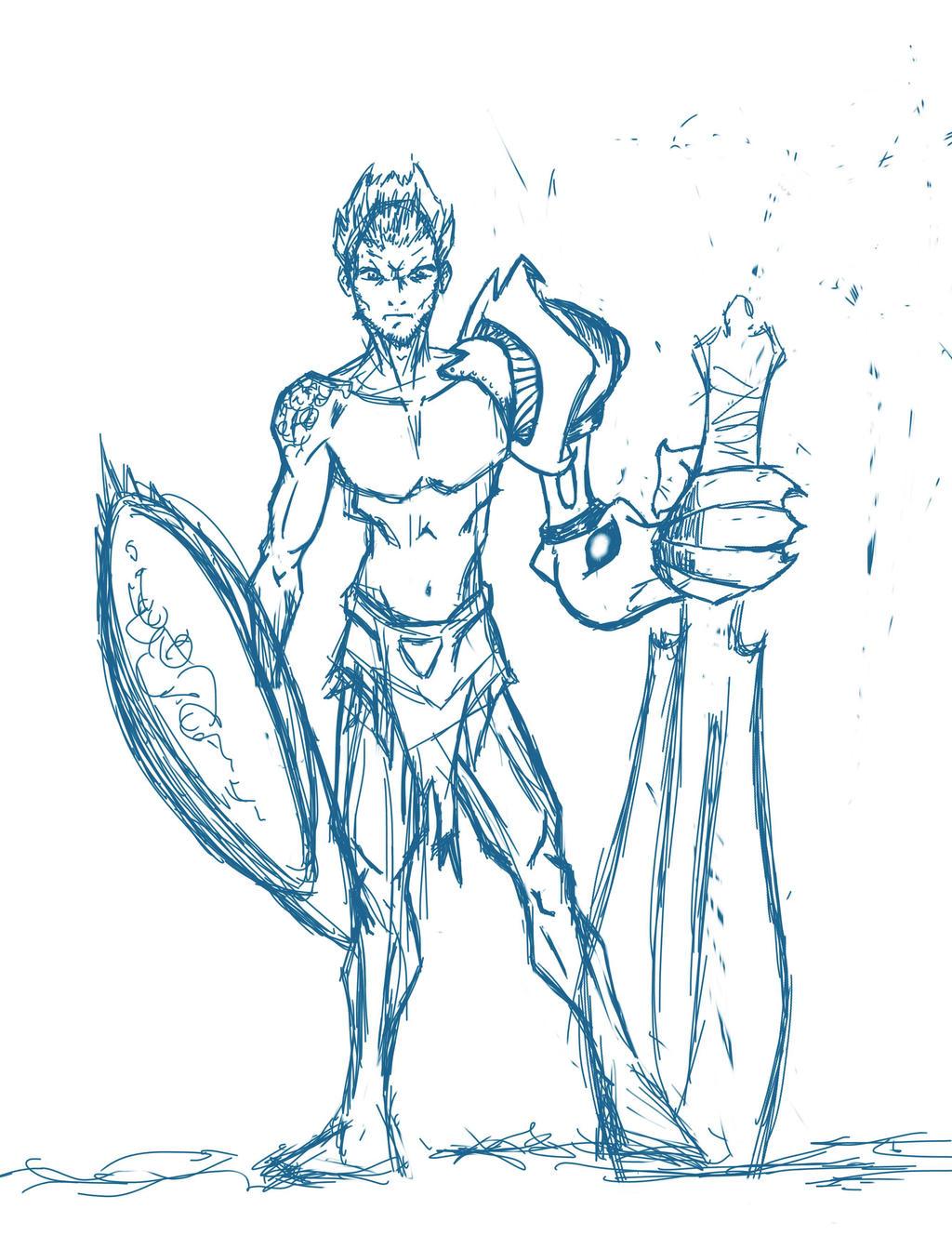 Hetai warrior sketch xxx gallery