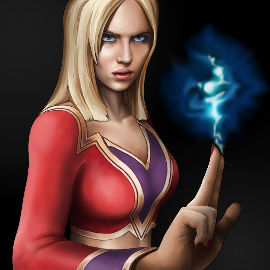 Ash, Female Wizard by KevinFurr