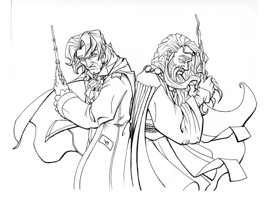 Dumbledore's Pain - The Duel