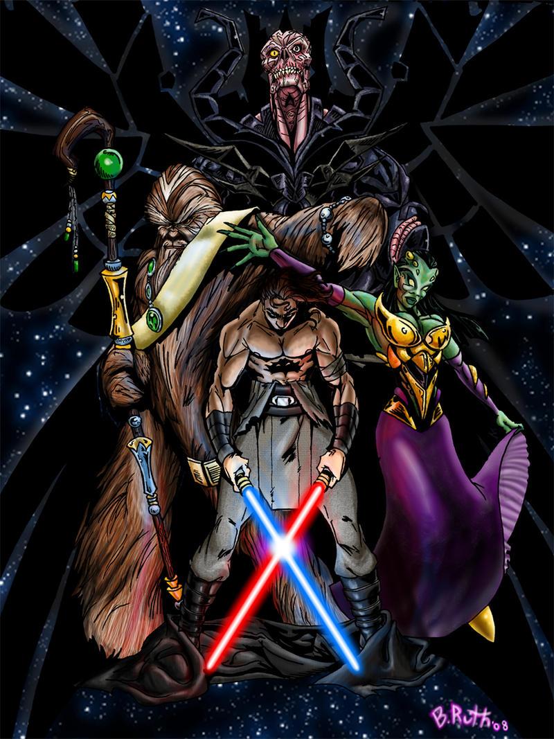 Torn Jedi by REBELComx