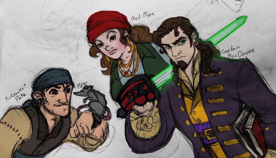 Crew of the Dark Horizon by REBELComx