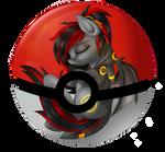 Pony in pokeball