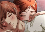Otani and Risa -sleep