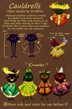 Cauldrells [Open Species]