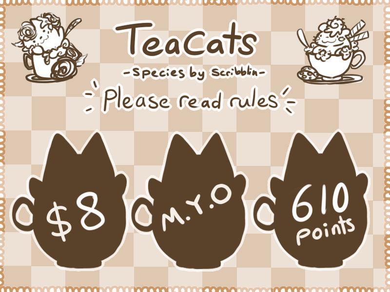 MYOteacats by scribblin