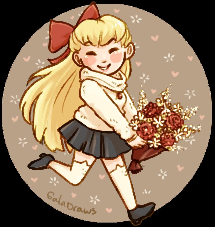 Sailor V by scribblin