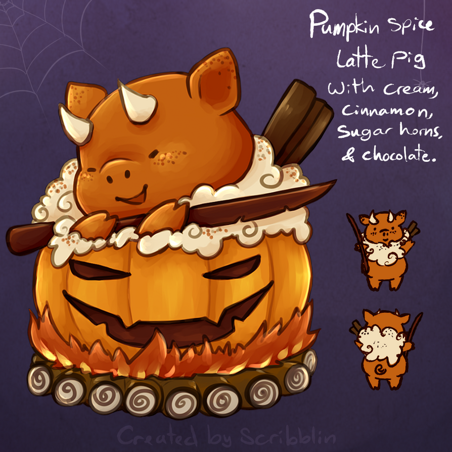 HMT- 24th day [Pumpkin Slice] by scribblin